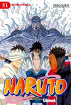 Cover for Naruto (Ediciones Glénat, 2002 series) #51