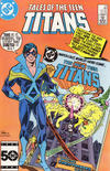 Cover for Tales of the Teen Titans (DC, 1984 series) #59 [Direct]
