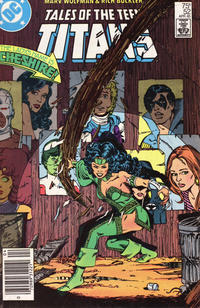 Cover Thumbnail for Tales of the Teen Titans (DC, 1984 series) #52 [Newsstand]