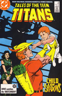 Cover Thumbnail for Tales of the Teen Titans (DC, 1984 series) #80 [Direct]