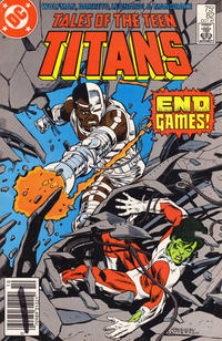 Cover Thumbnail for Tales of the Teen Titans (DC, 1984 series) #82 [Newsstand]