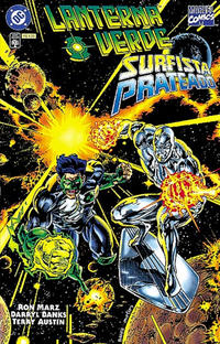 Cover Thumbnail for Lanterna Verde & Surfista Prateado (Editora Abril, 1997 series) #[nn]