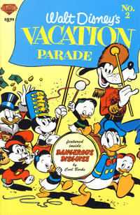 Cover Thumbnail for Walt Disney's Vacation Parade (Gemstone, 2004 series) #2