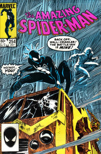 Cover for The Amazing Spider-Man (1963 series) #254 [Direct]