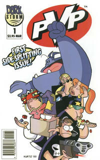 Cover Thumbnail for PVP (Dork Storm Press, 2001 series) #1