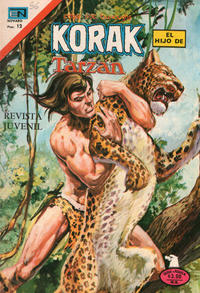 Cover Thumbnail for Korak (Editorial Novaro, 1972 series) #56