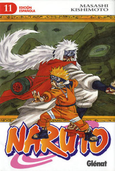 Cover for Naruto (Ediciones Glénat, 2002 series) #11