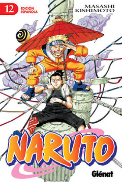 Cover for Naruto (Ediciones Glénat, 2002 series) #12