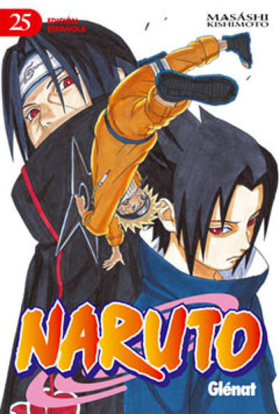 Cover for Naruto (Ediciones Glénat, 2002 series) #25