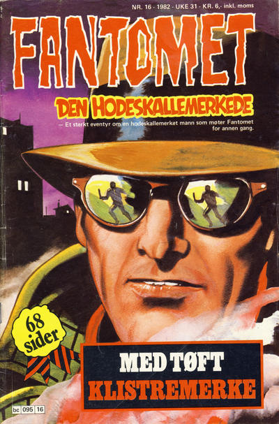 Cover for Fantomet (1976 series) #16/1982