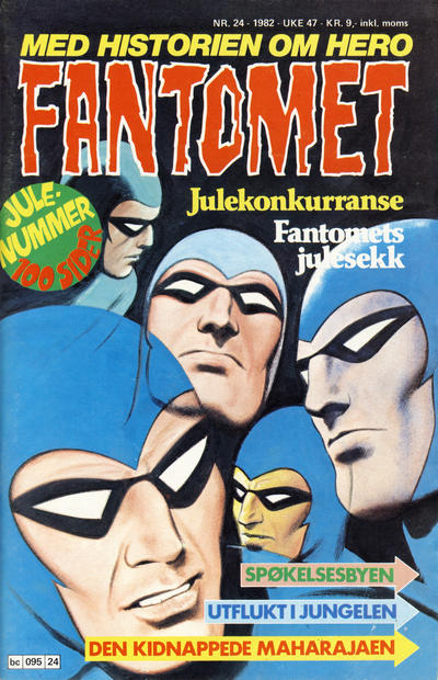 Cover for Fantomet (Semic, 1976 series) #24/1982