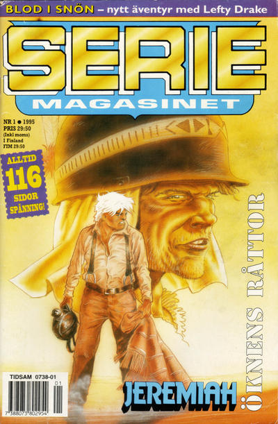 Cover for Seriemagasinet (Semic, 1970 series) #1/1995