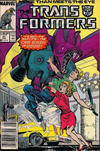 Cover Thumbnail for The Transformers (1984 series) #31 [Newsstand]