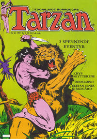Cover Thumbnail for Tarzan (Atlantic Forlag, 1977 series) #23/1977