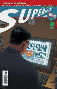 Cover Thumbnail for Superman: All Star (Grupo Editorial Vid, 2006 series) #11