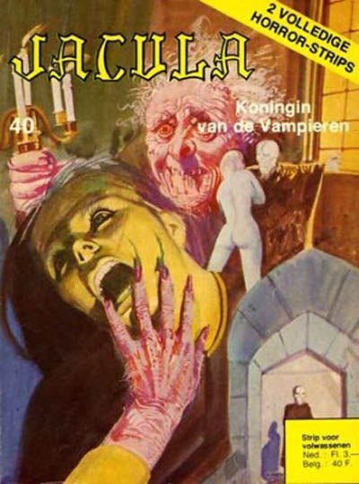 Cover for Jacula (De Vrijbuiter; De Schorpioen, 1973 series) #40