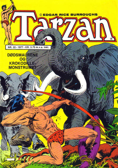 Cover for Tarzan (Atlantic Forlag, 1977 series) #22/1977