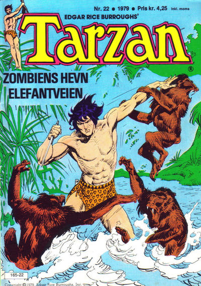 Cover for Tarzan (1977 series) #22/1979