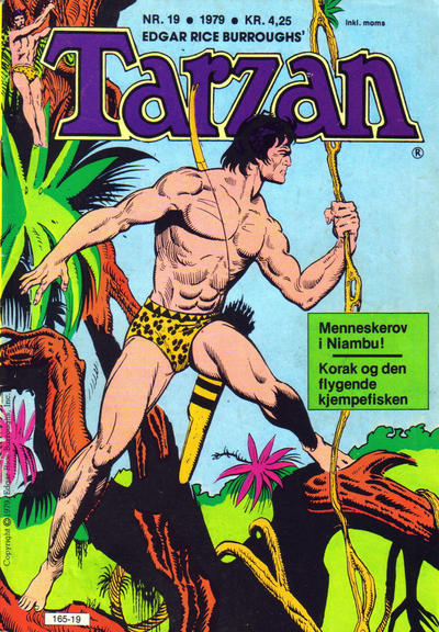 Cover for Tarzan (Atlantic Forlag, 1977 series) #19/1979