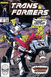 Cover for The Transformers (Marvel, 1984 series) #57 [Direct Edition]