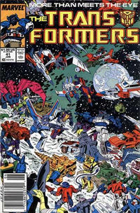 Cover Thumbnail for The Transformers (Marvel, 1984 series) #41 [Newsstand]