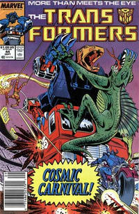 Cover Thumbnail for The Transformers (Marvel, 1984 series) #44 [Newsstand]