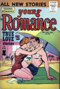 Cover Thumbnail for Young Romance (Prize, 1947 series) #v10#6 (90)