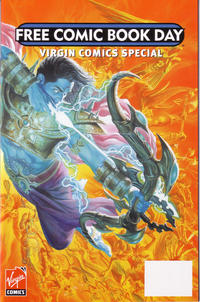 Cover Thumbnail for Free Comic Book Day Issue (Virgin, 2007 series)