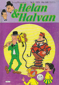 Cover Thumbnail for Helan och Halvan (Atlantic Förlags AB, 1978 series) #3/1979