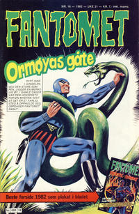 Cover Thumbnail for Fantomet (Semic, 1976 series) #16/1983