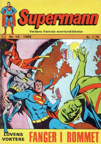 Cover Thumbnail for Supermann (Williams Forlag, 1969 series) #16/1969