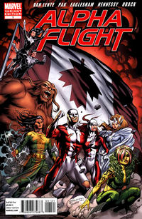 Cover for Alpha Flight (2011 series) #1