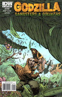Cover Thumbnail for Godzilla: Gangsters and Goliaths (IDW, 2011 series) #1 [Cover B]