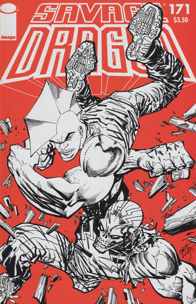 Cover for Savage Dragon (Image, 1993 series) #171