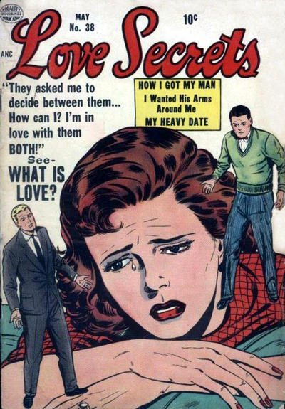 Cover for Love Secrets (Quality Comics, 1953 series) #38