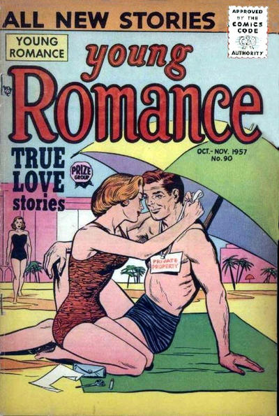 Cover for Young Romance (Prize, 1947 series) #v10#6 (90)