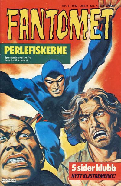 Cover for Fantomet (1976 series) #5/1983