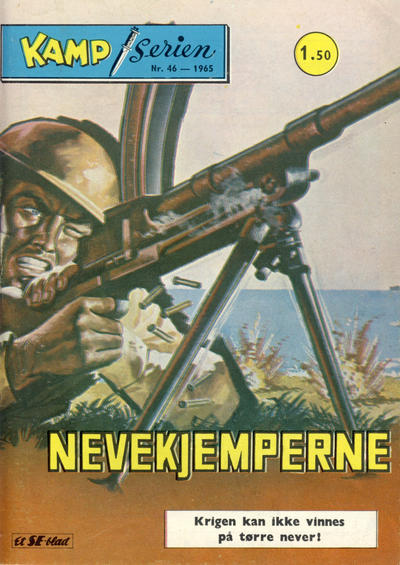 Cover for Kamp-serien (1964 series) #46/1965