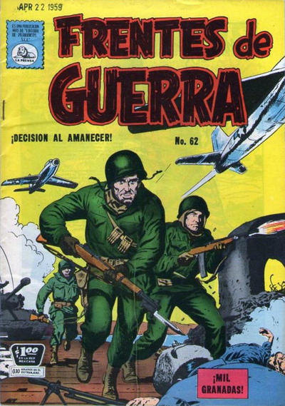 Cover for Frentes de Guerra (1952 series) #62
