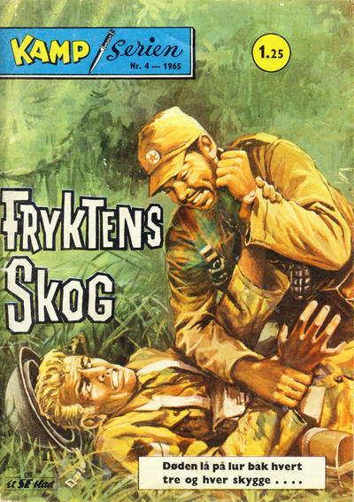 Cover for Kamp-serien (1964 series) #4/1965