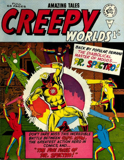 Cover for Creepy Worlds (1962 series) #77