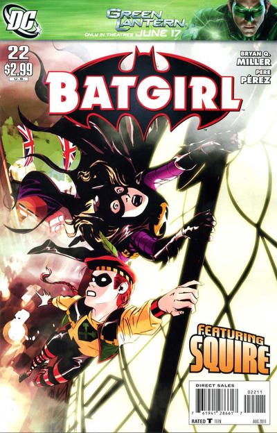 Cover for Batgirl (DC, 2009 series) #22