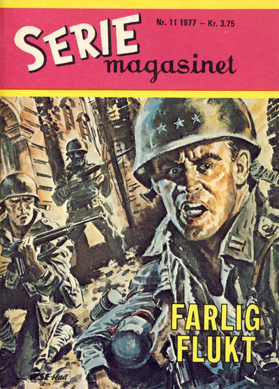 Cover for Seriemagasinet (Se-Bladene - Stabenfeldt, 1951 series) #11/1977