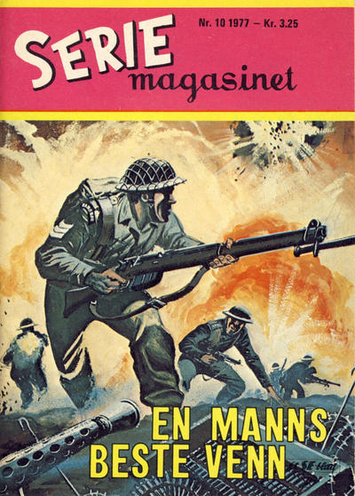Cover for Seriemagasinet (Se-Bladene - Stabenfeldt, 1955 series) #10/1977