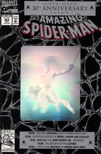 Cover for The Amazing Spider-Man (Marvel, 1963 series) #365 [Direct Edition]