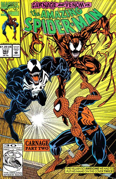 Cover for The Amazing Spider-Man (1963 series) #362 [Direct Edition]
