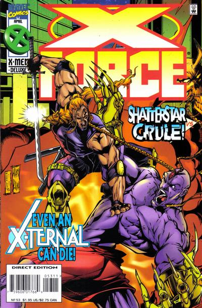 Cover for X-Force (1991 series) #53