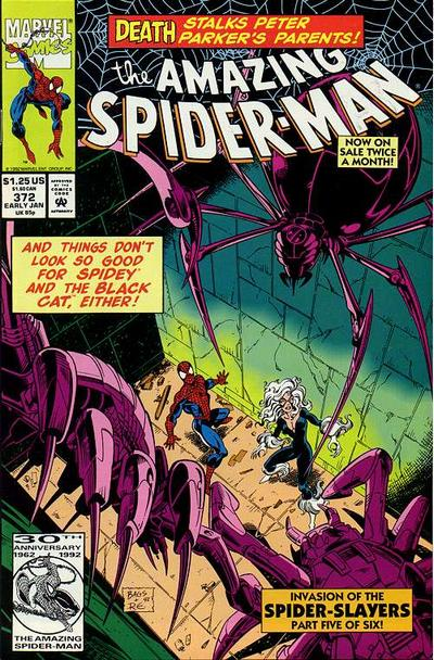 Cover for The Amazing Spider-Man (1963 series) #372