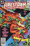 Cover for The Fury of Firestorm (DC, 1982 series) #11 [Newsstand]