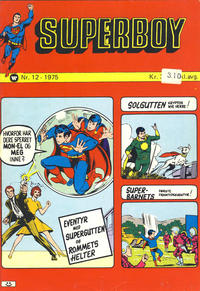 Cover Thumbnail for Superboy (Illustrerte Klassikere / Williams Forlag, 1969 series) #12/1975